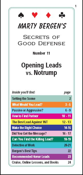 Opening leads against NT
