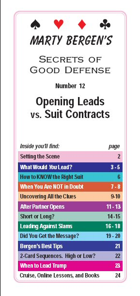 Opening leads against suit contracts